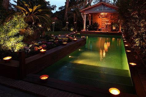 some cool backyard and garden lighting ideas furniture