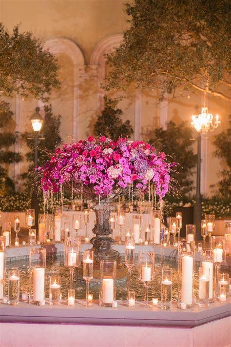 pink  purple  orleans wedding modwedding