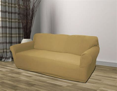 Linen Loveseat by Linen Jersey Sofa Stretch Slipcover Cover