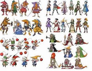 Final Fantasy Tactics Advance FFTA Square Artwork The