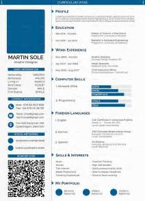best resume exles free download professional cv template for graphic designer include status bar computer skills exle skills