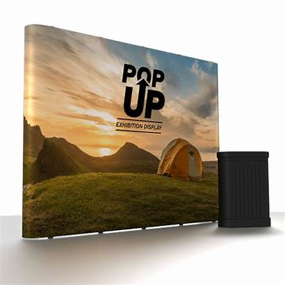 Pop Straight Banner Stand Display Banners Popup