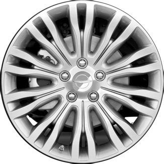 2011 2013 chrysler 200 wheels polished silver 18 quot rims 2433