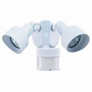 heath zenith 240 degree motion sensing outdoor security With outdoor motion lights at home depot