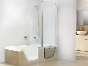 Sitzbadewanne Mit Dusche : badewanne dusche kombination ~ Frokenaadalensverden.com Haus und Dekorationen