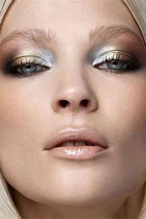 gorgeous gold makeup ideas   holidays