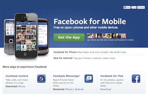 Fac3book Mobile by Mobile For Business What You Need To Social