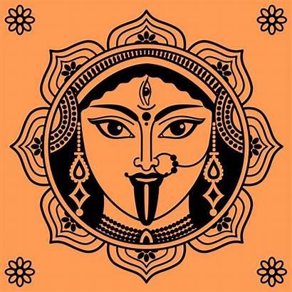Kali Tattoo Goddess Indian Maa Durga Ma