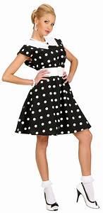 60 Jahre Style : d guisement robe noire pois ann es 50 femme deguise toi achat de d guisements adultes ~ Markanthonyermac.com Haus und Dekorationen