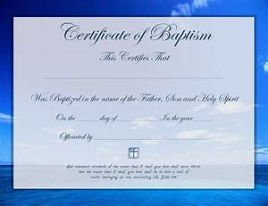 baptism certificate download free premium templates With free printable baptism certificates templates