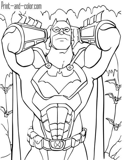batman coloring pages print  colorcom