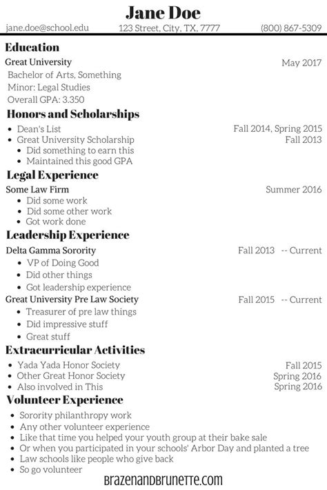 What To Put In Your College Resume by What To Put On College Application