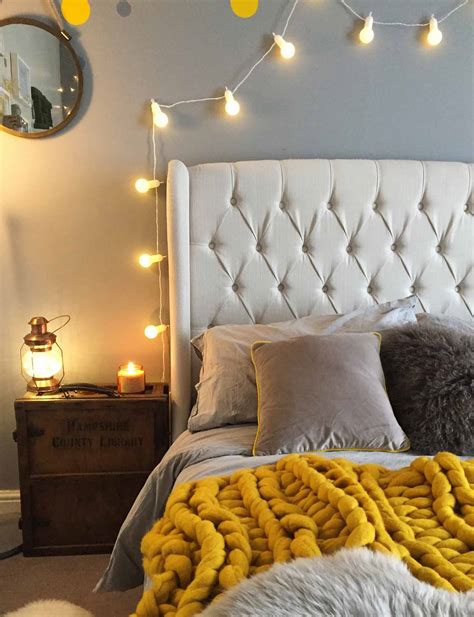 bedroom fairy light ideas inspiration lightsfuncouk