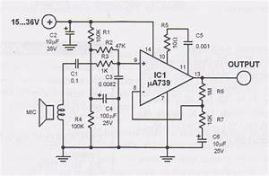 Audio Preamplifiers Projects And Circuit
