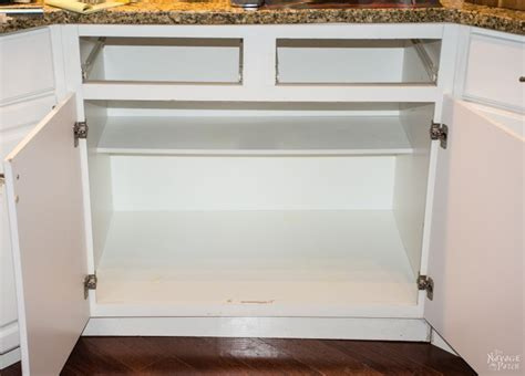 Diy Slide-out Shelves Tutorial Chest Of Drawers Plans Free Under Cabinet Drawer How To Replace Tracks Replacement Fronts White Tool Storage What Is The Oven Called Plastic Units Wine Cooler