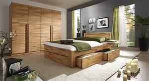 Komplett Schlafzimmer Aus Massivholz Andalucia