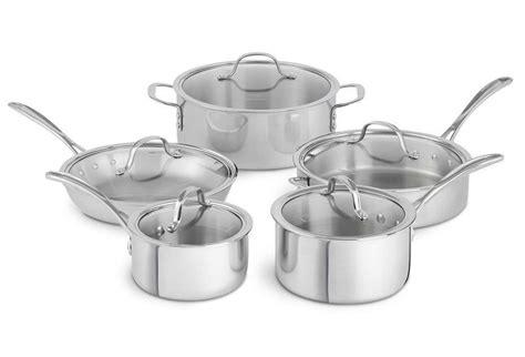 calphalon  piece tri ply cookware set   shipped