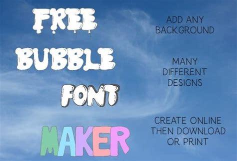 bubble letters generator add bubble letters   click