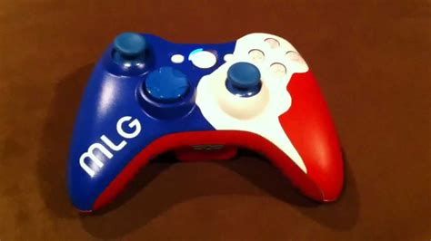 Xbox 360 Custom Mlg Gamer Controller Youtube