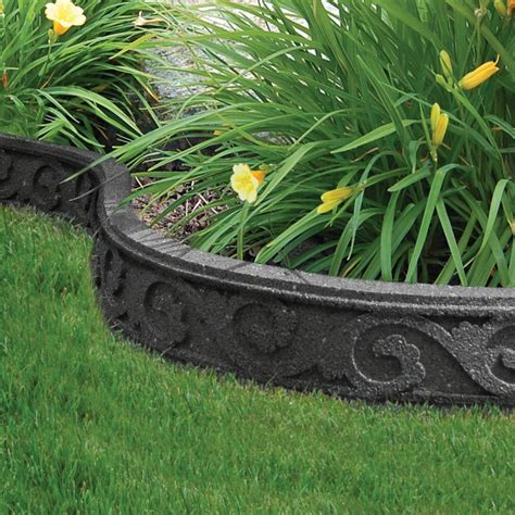 ecotrend 3 5x48 inch flexi curve scroll grey the home