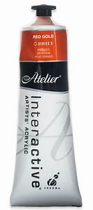 Atelier Interactive Acrylic Paint 80ML S3 - RED GOLD