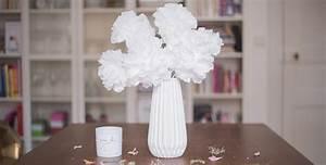 fleurs avec des serviettes en papierdollyjessy With chambre bébé design avec bouquet de fleurs dans un vase