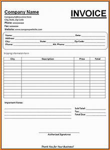 invoice forms printable bing images With invoice sheets printable