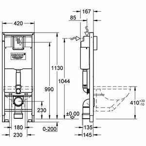 Grohe Unterputz Spülkasten : wc trageelement rapid sl grohe neu 42 cm breit mit unterputz sp lkasten 6 l bh 1130 cm ~ Watch28wear.com Haus und Dekorationen