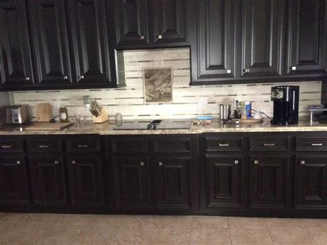 white cabinets  painted  bittersweet