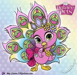 Disney Princess Palace Pets Coloring Pages