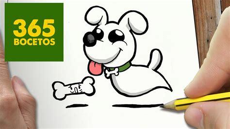 como dibujar perro fantasma kawaii paso  paso dibujos