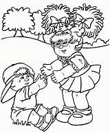 Cabbage Patch Coloring Pages Crying Sheets Colouring Doll Printable Bing Drawing Child Bear Want Hold Dolls Popular Alive Getcolorings Coloringhome sketch template