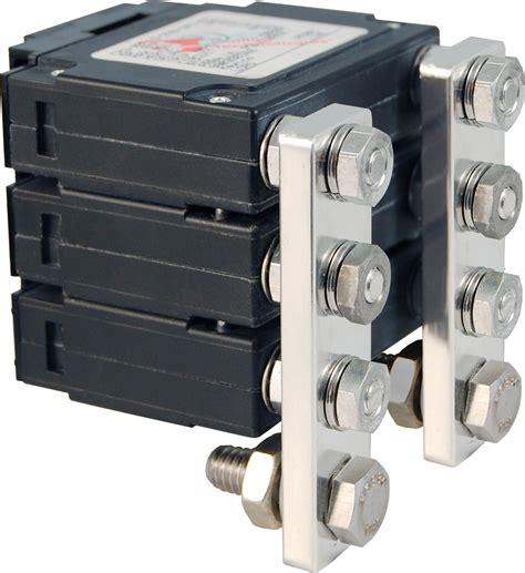 Series Flat Rocker Circuit Breaker Triple Pole