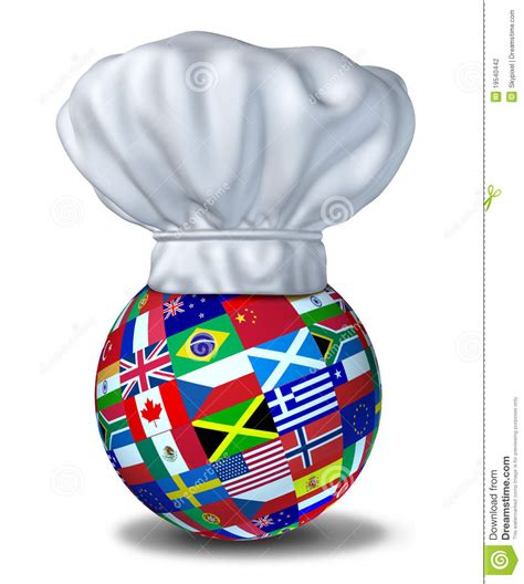 cuisine internationale cuisine internationale photographie stock image 19540442