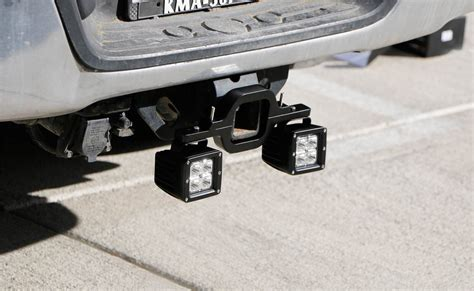 Ijdmtoy Tow Hitch Mount 40w High Power Cree Led Pod Backup