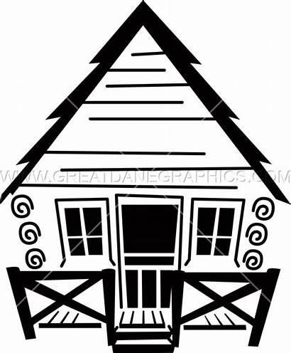 Clipart Cottage Drawing Pretty Cabin Transparent Camp