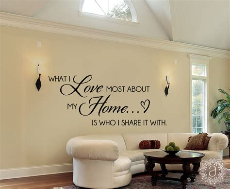 Home Decor Decals : What I Love Most About My Home