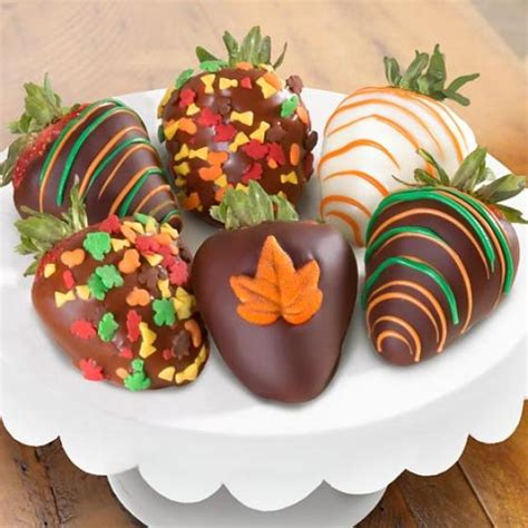 fall chocolate covered strawberries  berries acd