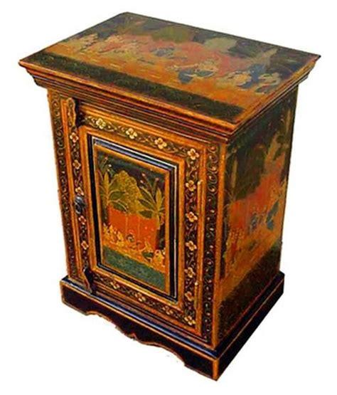 indian furniture sheesham wood painted bedsider buy