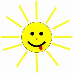 Funny Sun Face Cartoon Clip Art at Clker.com - vector clip ...