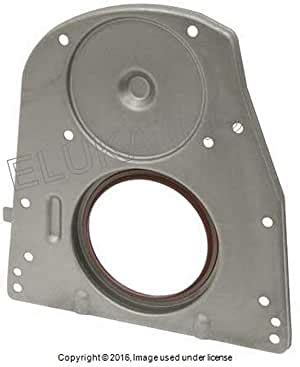 New crankshaft metal seal race with custom polished lip. Amazon.com: Mercedes-Benz Rear Engine Crankshaft Seal with ...