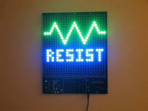 make your own led l make your own mooninite led sign ohgizmo