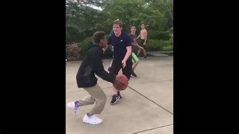 lebron james jr dunks  random kids youtube