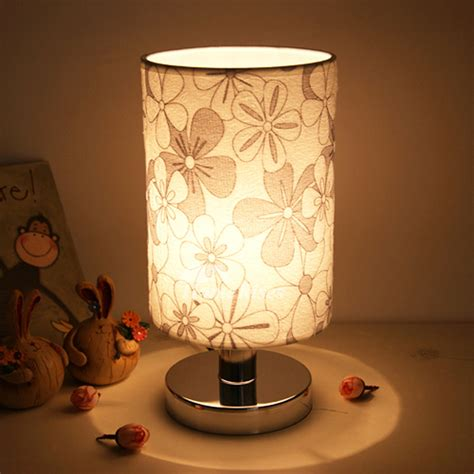 small table lamps modern living room fabric shade
