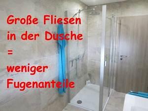 Wasserfeste Wandverkleidung Bad : bad ohne fliesen fugenloses bad dusche fliesen fieber ~ Lizthompson.info Haus und Dekorationen