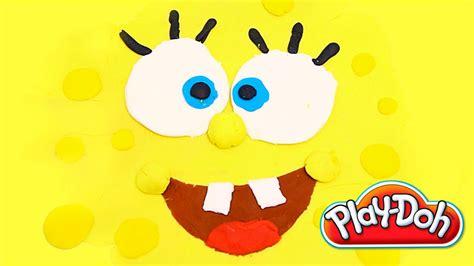 Spongebob made of Play Doh Bob Esponja plastilina playdo