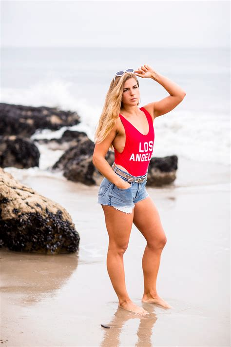 Crossfit Model Portrait Shoot in Malibu California   Los ...