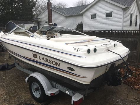 Larson Bowrider Boats For Sale by Larson Bowrider 2002 For Sale For 4 550 Boats From Usa