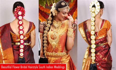 Wedding Hairstyles Indian : South Indian Bridal Hairstyles For A Gracious Look