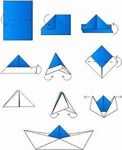 Origami Bateau à Voile : le dada de l 39 enfant terrible un classique revisit ~ Dode.kayakingforconservation.com Idées de Décoration